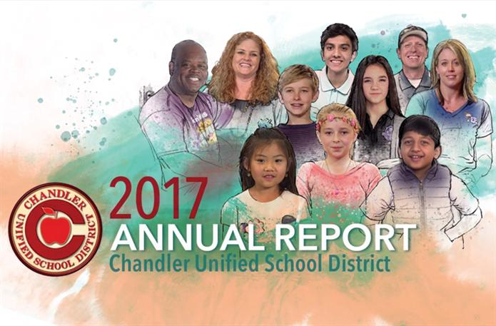 Annual Report Cover Picture - Students and Staff