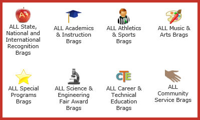 Our BRAGS!  Honors, Awards and Special Programs