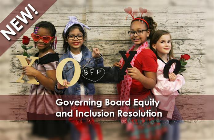 Click for info aboutGoverning Board resolution addressing equity and inclusion