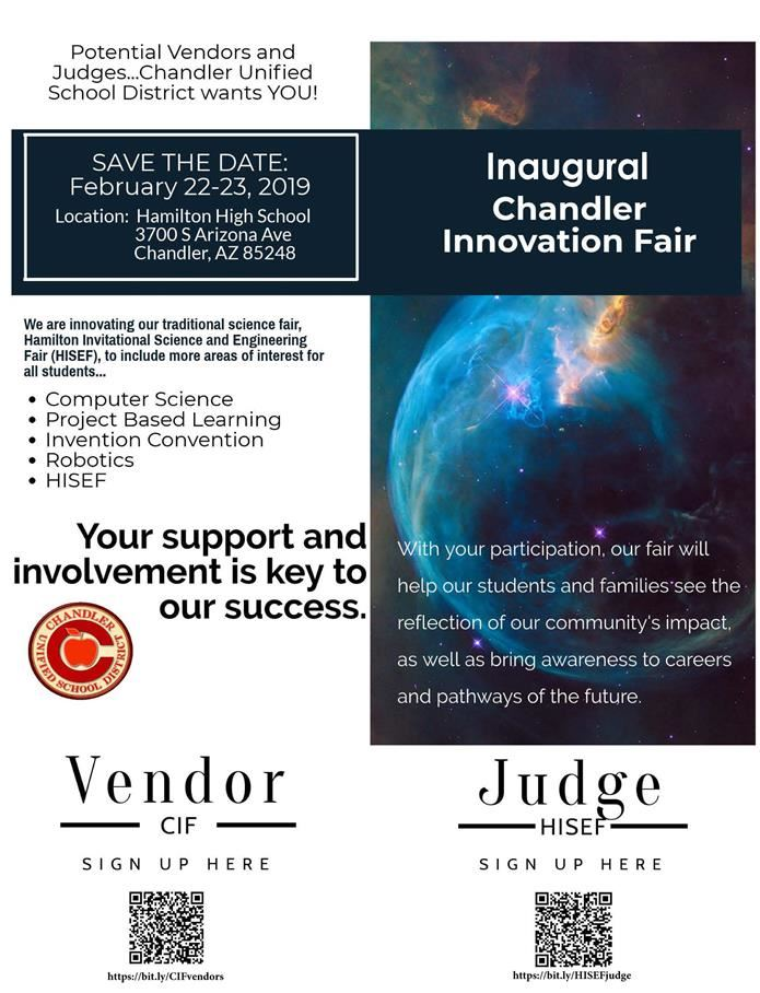 Inaugural Chandler Innovation Fair