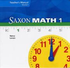 Saxon Math 1 Book