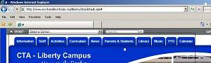website navigation pics