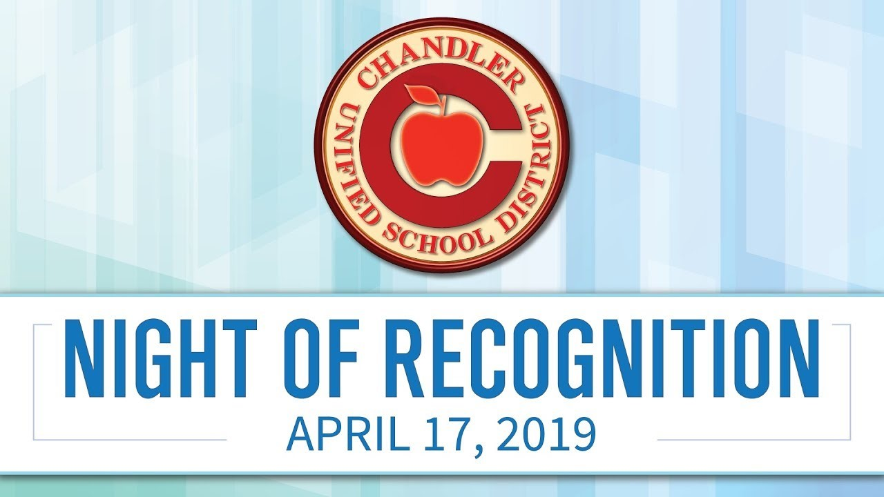 CUSD Night of Special Recognition, Spring 2019