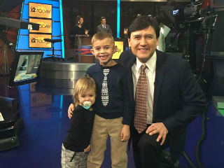 Owen Thompson, winner of Weather Kid Wednesday from Channel 12 News