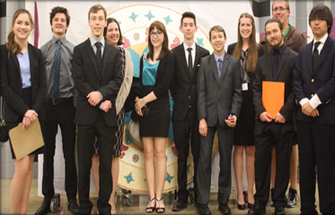 Our Basha High Academic Decathlon Team