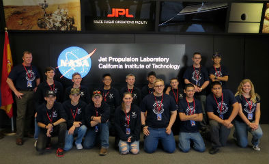 Basha High's Air Force JROTC on a 4-day intense Space Exploration field trip to Pasadena and Los Angeles, CA.