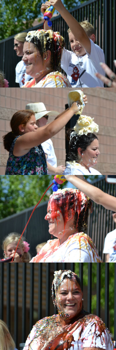 Mrs. Whitlark as a Human Ice Cream Sundae