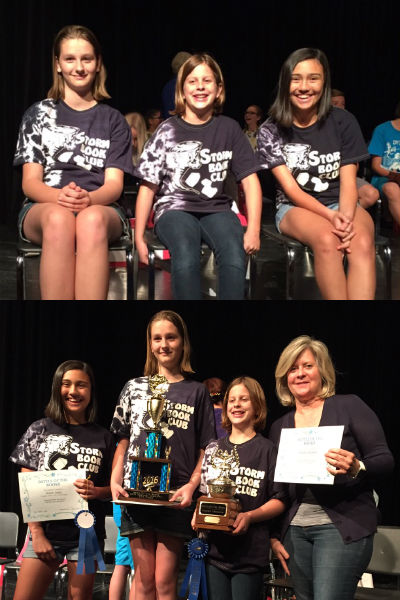 Santan Elementary's Battle of the Books Team