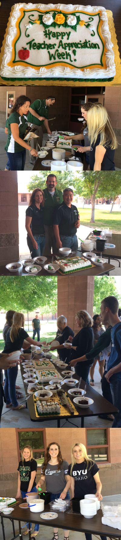 Basha High Teacher Appreciation Day Festivities