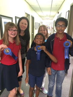 CTA Humphrey, 1st Place Winner in Round 1 of CUSD Battle of the Books