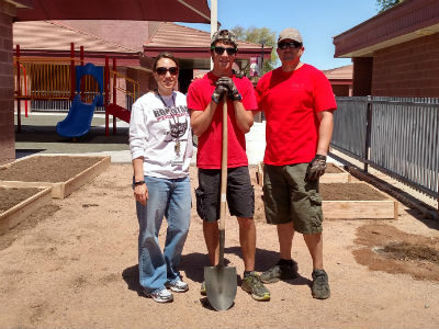 Brandin Navarroa and Eagle Scout Project at Conley
