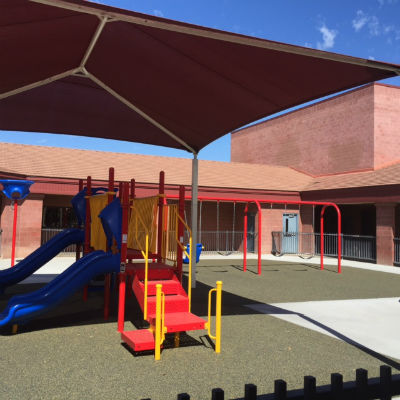 Conley's new special needs playground
