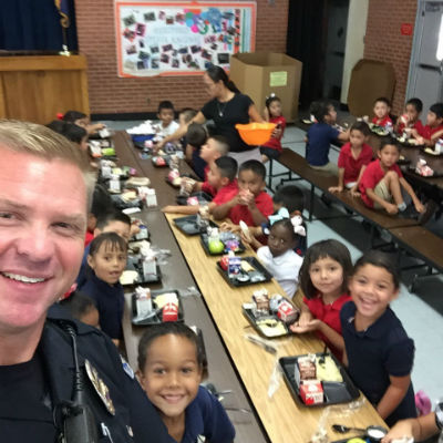 Chandler Police Department Lunch with our Students