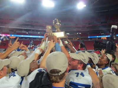 The Chandler Wolves win the 6A State Football Championship