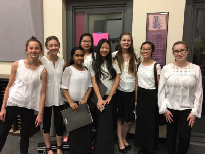 Bogle students selected for the CUSD Honor Orchestra