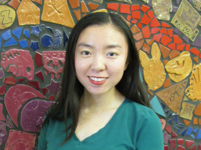 U.S. Presidential Scholar award winner, Allison Chen