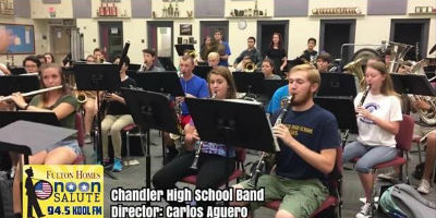 The CHS Wolf Pack Band