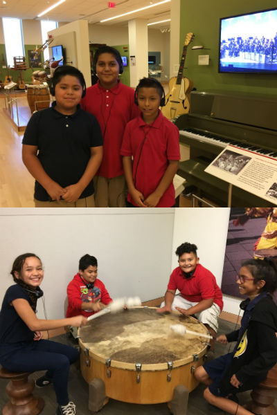 5th Grade Students at the Musical Instrument Museum
