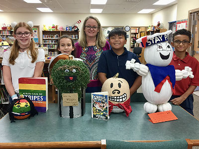 Storybook Pumpkin Patch decorating contest