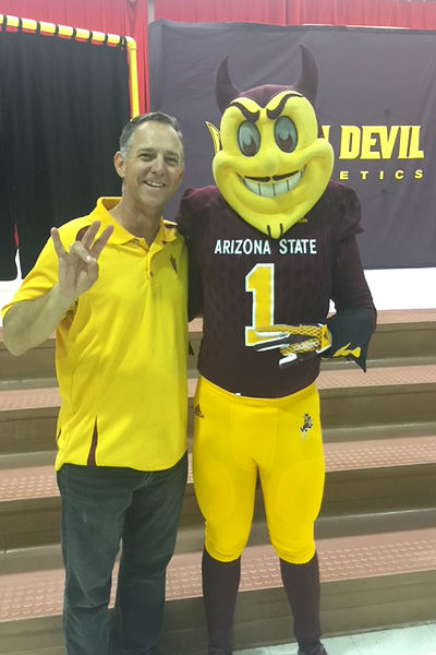 ASU Sparky's Tour at Conley
