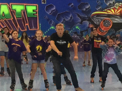 Fox 10 Morning Show at Skateland