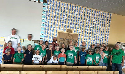 CTA Goodman Student Council working at Feed My Starving Children