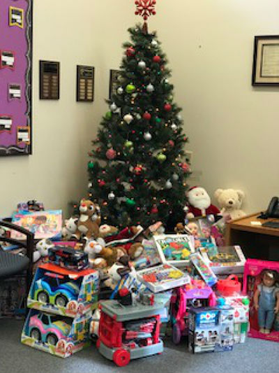 Santan PTO-sponsored Holiday Toy Drive