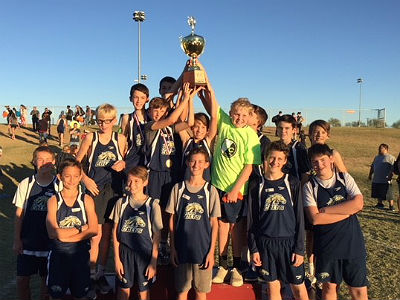Cross Country East Valley Champions