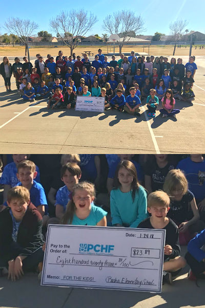 Basha Elementary's Third Grade Donation to Phoenix Children's Hospital