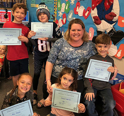 Honor Roll, Principal List and Perfect Attendance Awards