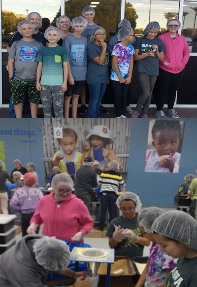 Basha AMS at Feed My Starving Children