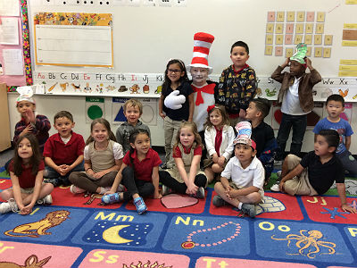 Dr. Seuss' Birthday at Shumway Leadership Academy