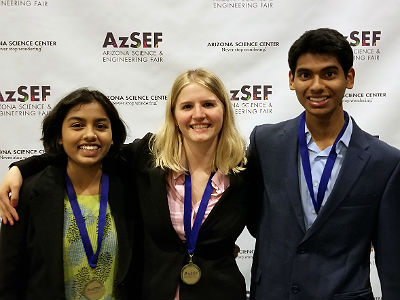 Basha High ISEF Participants