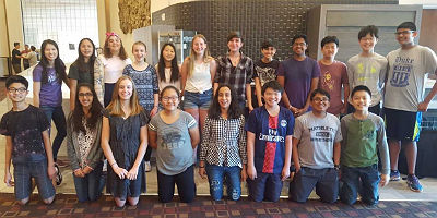 Bogle Junior High Orchestra Students