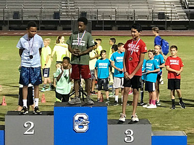 5th and 6th Grade Track Competition