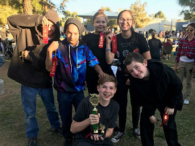 WJHS Odyssey of the Mind Team