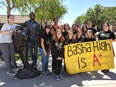 Basha High, A+ School of Excellence