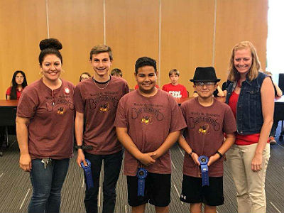 Bologna Elementary Battle of the Books Team