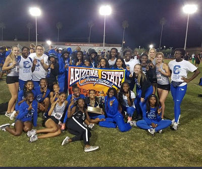 The Chandler Girls Track Team