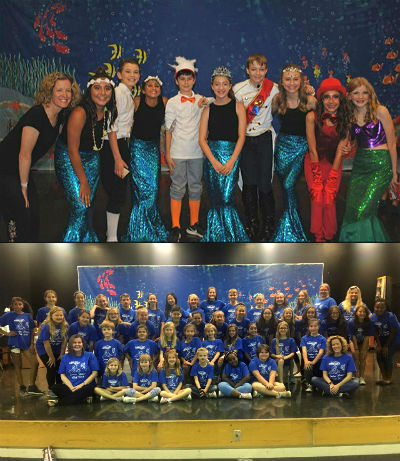 Drama Club 2018 Little Mermaid Jr. Musical