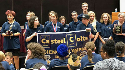 Casteel Junior High Science Olympiad Team