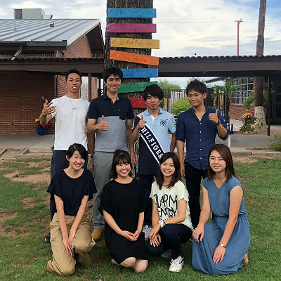 Japanese University Exchange Students