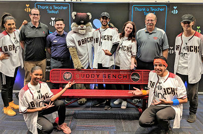 Arizona Diamondbacks and students of Hull Elementary