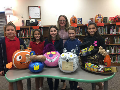 CTA Freedom's storybook pumpkin painting contest winners