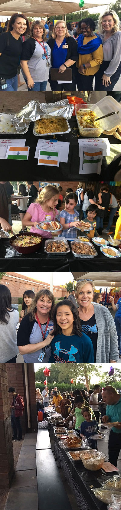 English Language Development potluck/picnic