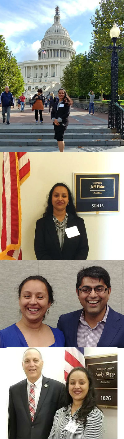 Mrs. Rachna Nath at Washington, D.C.