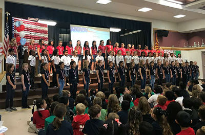 Veterans Day breakfast and assembly