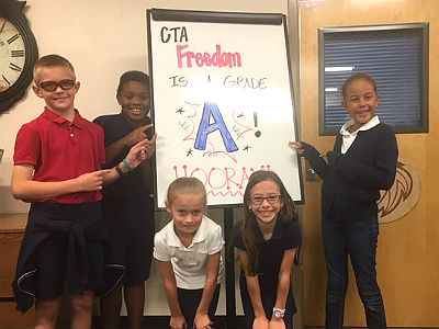 CTA Freedom is an A-rated school