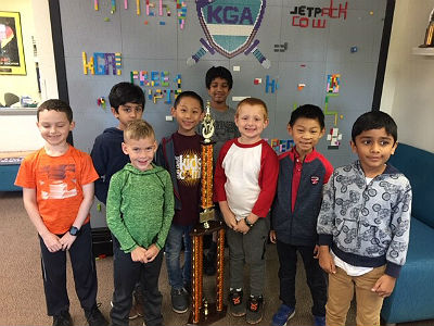 Best of Phoenix 1st Place K-3 Chess Team