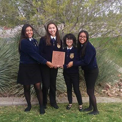 BHS FFA State 1st place winning team: Wildlife
